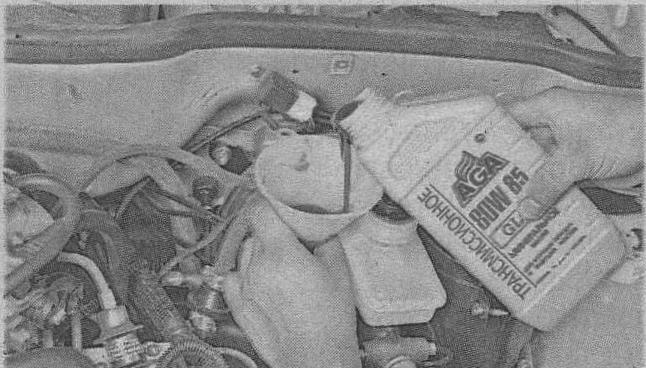 замена моторного масла ВАЗ 2108