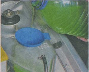 расширительный бачок ВАЗ Гранта, охлаждающая жидкость ВАЗ Гранта