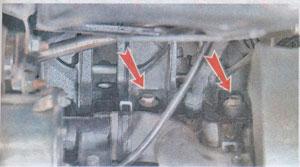 кронштейн трубопровода Daewoo Nexia