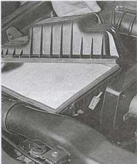 Крышка воздушного фильтра Daewoo Nexia