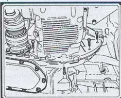 снятие масляного картера с коробки передач Daewoo Nubira, снятие масляного картера с коробки передач Donivest Orio