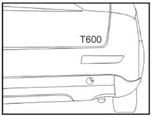 Передняя буксирная петля Zotye T600