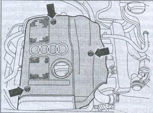 давление в картере Audi A6, протечка масла Audi A6